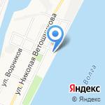 Мир воды на карте Астрахани