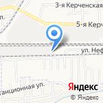 Валькирия на карте Астрахани
