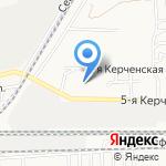 Нимет на карте Астрахани