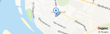 Роспечать на карте Астрахани