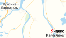 Отели города Чаган на карте