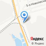 Астрагаз на карте Астрахани
