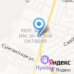Почтовое отделение №28 на карте Астрахани