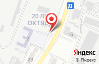 Схема проезда до компании Многопрофильная компания в Астрахани