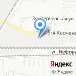 Бош на карте Астрахани