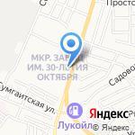 Катрин на карте Астрахани