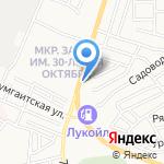 Антрекот на карте Астрахани