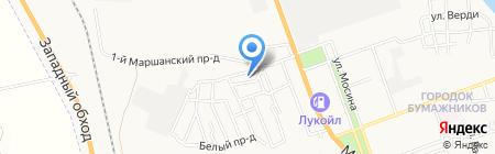 Мастерская по ремонту резиновых и ПВХ-лодок на карте Астрахани