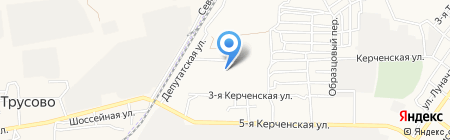 Детский сад №117 Радуга на карте Астрахани