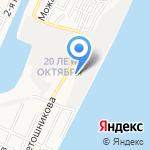 Атлантик на карте Астрахани