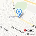 Каринка на карте Астрахани