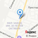 Сквознячок на карте Астрахани