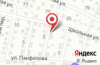 Схема проезда до компании Астраханьэнергонефть в Астрахани