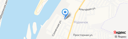 Строй-сервис-технология на карте Астрахани