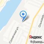 Гринокна на карте Астрахани