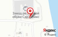Схема проезда до компании ТЕТРА-ПЛАСТ в Астрахани