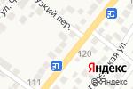 Схема проезда до компании Шиномонтажная мастерская в Старокучергановке