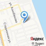 Почтовое отделение №44 на карте Астрахани