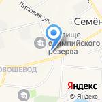 Семеновская врачебная амбулатория на карте Йошкар-Олы