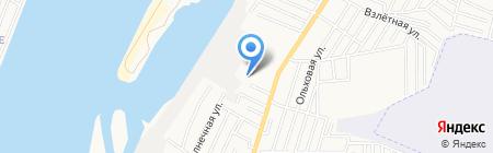 KIA Нахимовский на карте Астрахани