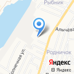 КИА Нахимовский на карте Астрахани
