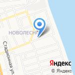Основная общеобразовательная школа №21 с дошкольным отделением на карте Астрахани