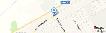 Княжна на карте Йошкар-Олы