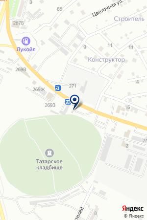 АГНС ТОПЛИВНАЯ КОМПАНИЯ ЛОКОМОТИВ на карте Астрахани