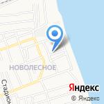 Жилищник №4 на карте Астрахани