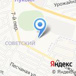 КИЗАНСКИЙ на карте Астрахани