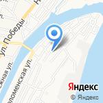 Храм святого Николая Чудотворца на карте Астрахани