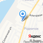 Джихангир на карте Астрахани