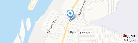 Гастроном 24 на карте Астрахани