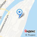 РАШ на карте Астрахани