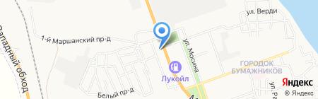 Идиллия на карте Астрахани