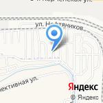 Астнова на карте Астрахани