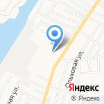 Аксиома на карте Астрахани