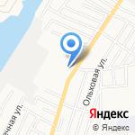 Фатом на карте Астрахани