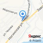 Золотой на карте Астрахани