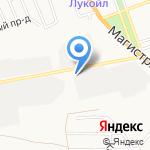 Астраханьпром-Юг на карте Астрахани