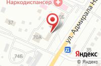 Схема проезда до компании Спецкомплект в Астрахани