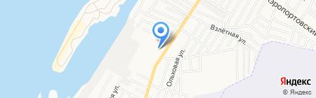 Каспиан-СК на карте Астрахани