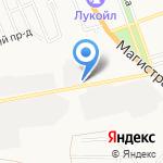 Автолайн на карте Астрахани
