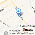Семеновская специальная (коррекционная) общеобразовательная школа-интернат на карте Йошкар-Олы