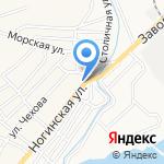 Удачный на карте Астрахани