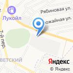 Связьстрой-2 на карте Астрахани