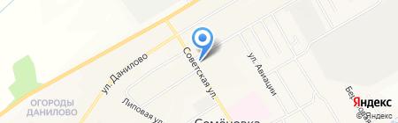 Застолье на карте Йошкар-Олы
