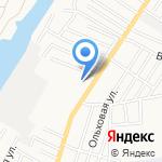 Астрамарин на карте Астрахани