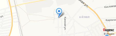Венеция на карте Астрахани