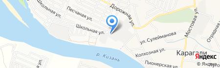 Константа на карте Астрахани